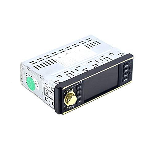 Mothcattl 4019B Stereo per Auto Bluetooth, Controllo del Volante da 4,1 Pollici per Auto Lettore MP5 Ad Alta Definizione Audio FM Autoradio Casuale