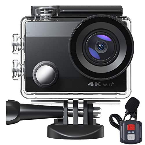 4K Action Cam WiFi, 40M...