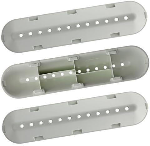 SPARES2GO 12 Trous Tambour Paddle Lève Pour Machines à Laver Indesit (227 mm x 53 mm x 38 mm, Pack de 3)