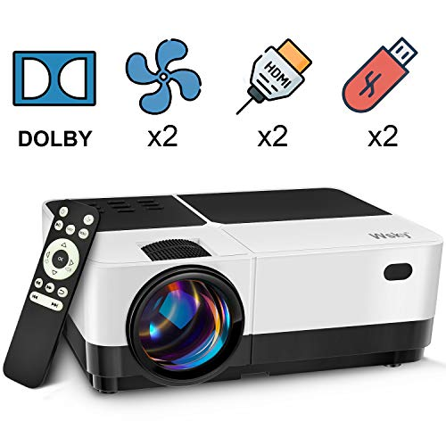 Best projector for outdoor movies - Wsky Video Portable Projector