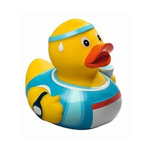 Mein Zwergenland Quietsche-Ente Quietscheente Badeente Bath Duck Marathon