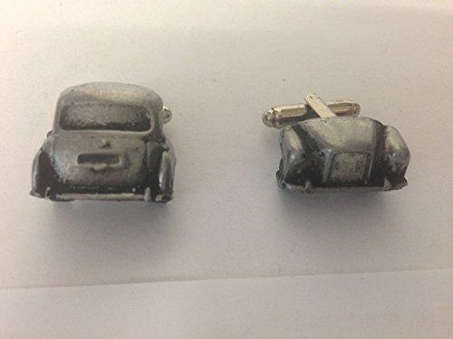 FX4 Austin avant arrière Taxi & 3D-Boutons de manchette Homme-Classique-Bouton De Manchette en étain effet ref11