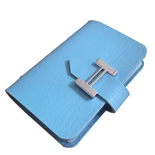 MYLB porta carte credito uomo donna - 20 Slot (blu)