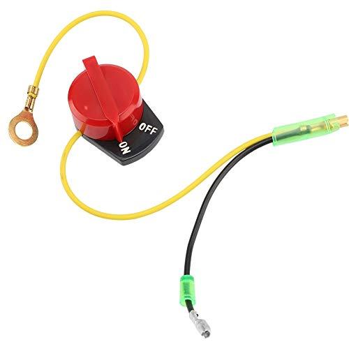 Interruptor de Encendido y Apagado del Motor para Honda Gx110 Gx120 Gx160 Gx200 Gx240 Gx270 Gx390 por Delaman