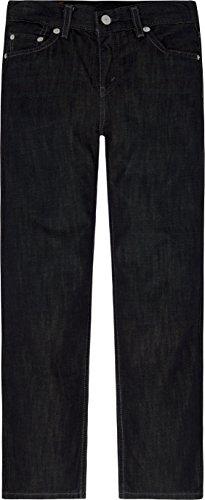 Levi's Boys' Big 514 Straight Fit Jeans, Fume, 10