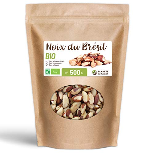 Noix du Brésil Biologiques - 500 g
