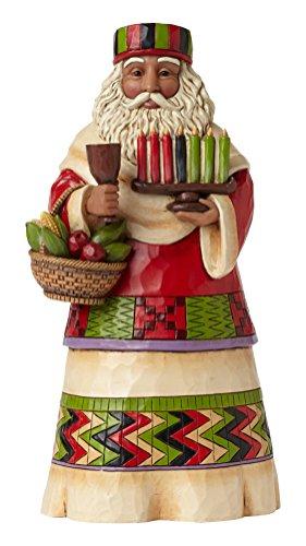 Jim Shore Heartwood Creek African Santa Stone Resin Figurine