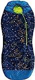 AceCamp Saco de dormir para Unisex Aduultos para interior y exterior [Brilla en la oscuridad] [Azul -180 cm]