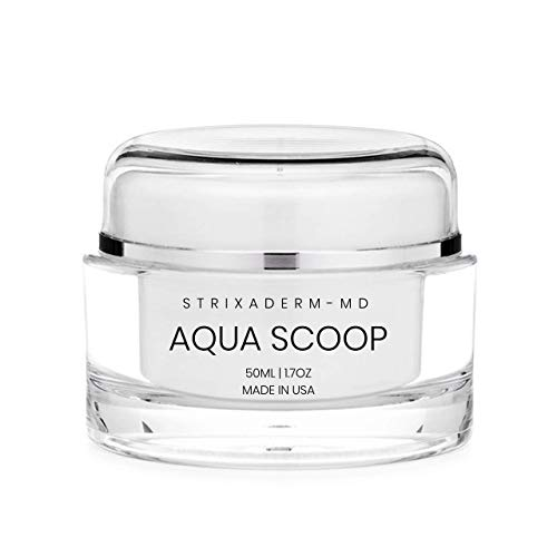 Strixaderm AquaScoop Anti-Aging Plumping Cream - Collagen Booster Daytime & Night Firming Moisturizer - Wrinkle Free Skin, Lips & Eyes For Men & Women (Packaging May Vary)