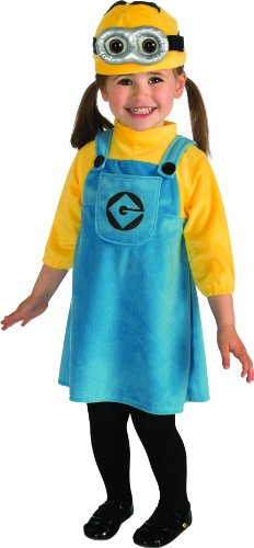 Rubies Toddler Minion Despicable ME2 Costume da bambini, 94 centimetri