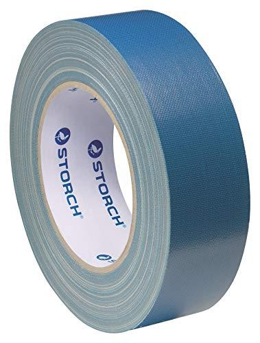 STORCH Powertape Gewebeband Das dünne Blaue 25mm x 50m Putzband Putzerband Bautenschutzband Schutzband Klebeband