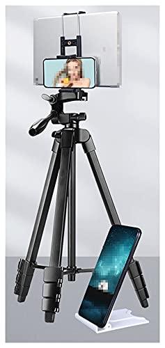 MYBHD Trípode para cámara, tableta y teléfono móvil, trípode de cámara (color 2 en 1)