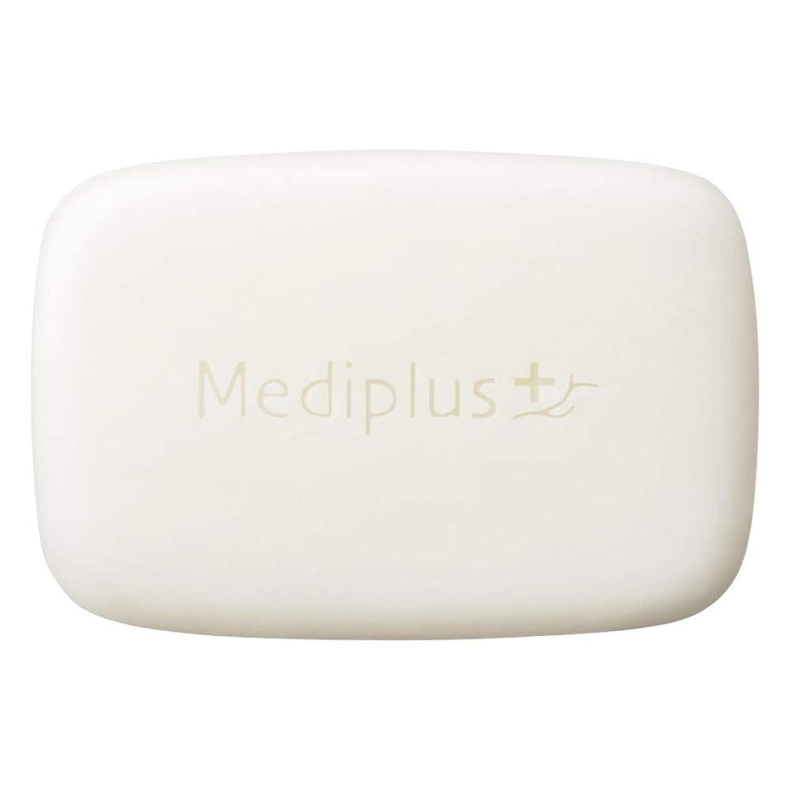 サスペンド貞明確なmediplus メディプラス オイルクリームソープ 60g(約2か月分)