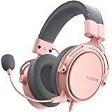 Soulsens Air SE Gaming Headset with 3D Bass for PS5 PC PS4 Xbox Over-Ear Computer Headset with Noise...