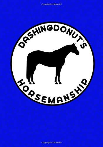 DashingDonut's Horsemanship: Notebook to Help Improve Your Riding Blue Design