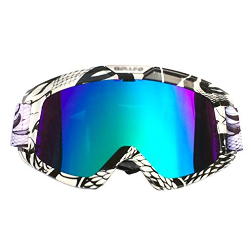 OttoBen Maske Retro Style Winddichte Maske Langlauf Motorrad Brille Outdoor Skibrille Masken Snowboard für Damen und Herren
