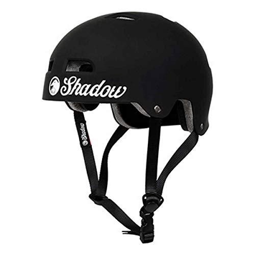 The Shadow Conspiracy Classic - Casco de moto (mate, tamaño XXL), color negro mate