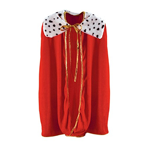 Beistle Red Children Royalty Cape-1pc