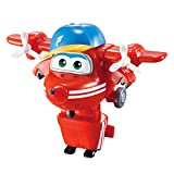 Super Wings Superwings Transform-a-Bots Flip, Color Red (EU720021)
