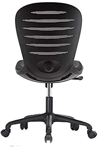 Daily Equipment Bürostühle Study Furniture Chairs Ergonomische Spielstühle Schwarz Größe: 42-52 cm (Farbe: Orange Größe: 42-52 cm)