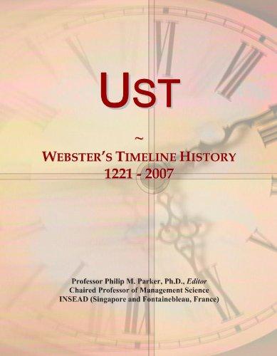 Ust: Webster's Timeline History, 1221 - 2007