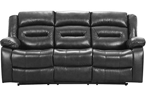 Recliner Sofa Set 3 Seater Home Theater Seating Reclining Couch Sofa for Living Room Manual Recliner Motion for Home Furniture