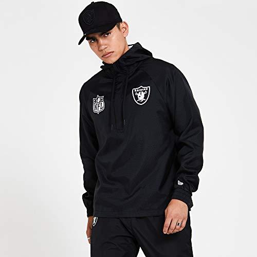 New Era Nfl Windbreaker Oakrai - Giacca da uomo, Uomo, giacca, 12380481, bianco, XXL