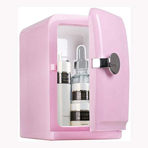NXYJD Refrigerador Compacto Coche, eléctrico chaquetón 5l portátil Mini cosmética Calentar la Comida del refrigerador