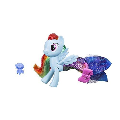 Hasbro My Little Pony-C1828ES0 Rainbow Dash Sirena con Vestito, C1828ES0