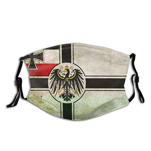 Flaggen Preußen Gesichtsdekorationen Kopfbedeckungen FA-CE Co-Ver Mit Filter Bandana