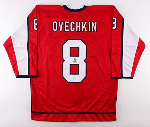 Alex Ovechkin Autographed Signed Capitals Jersey (JSA COA) 2018 Stanley Cup Champion