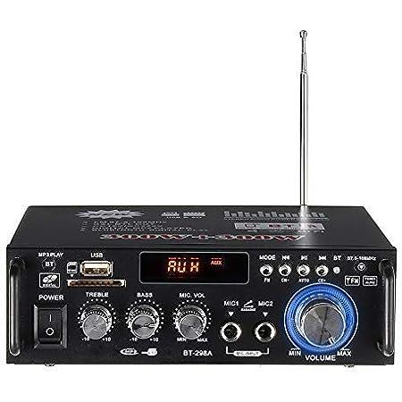 Hifi Audio Amplifier 600 W Bass Stereo Bluetooth Amplifier Mp3 Sd Usb Fm For Home Car 12 V 220 V 240 V Beleuchtung