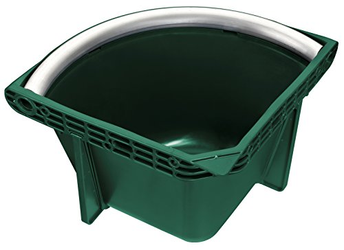 Plastica Panaro 30084 Comedero Cavalli, Verde, 395 x 395 x 295 cm
