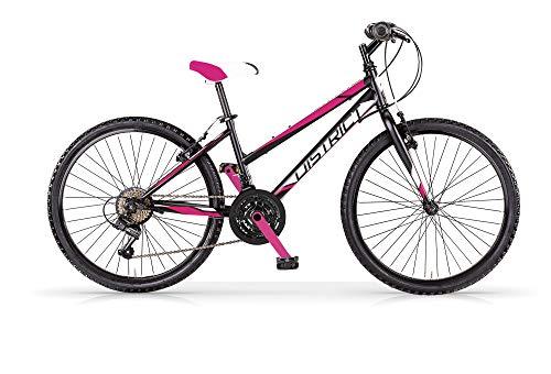 MBM District 26 MTB D Acc Revo 18 V, Bicicleta para Mujer, Negro A01, XX