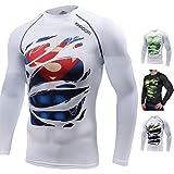 Khroom T-Shirt de Compression de Super-héros pour Homme | Vêtement Sportif à Séchage Rapide pour Fitness, Gym, Course,...