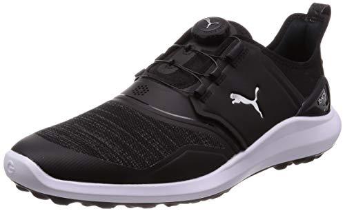 PUMA Herren Ignite Nxt Disc Sneaker, Grau Black Silver White, 45 EU