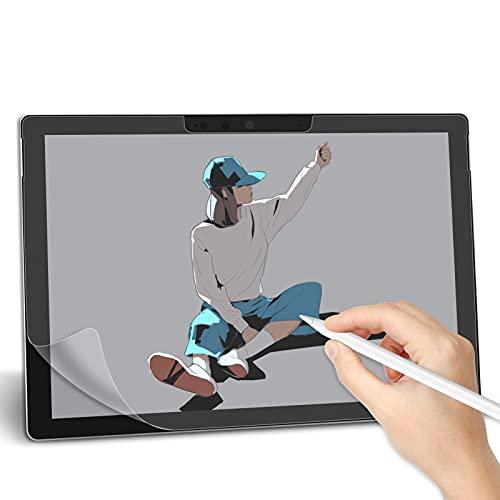 Svanee Paper-Like Matte Schutzfolie für Microsoft Surface Pro 7/Surface Pro 6/Surface Pro 5/Surface Pro 4, [2 Stück] Anti-Reflexion, Unterstützt Pencil, zum Schreiben, Zeichnen & Notizen machen