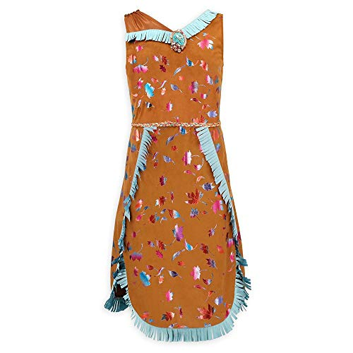 Disney Pocahontas Costume for Girls, Size 7/8 Brown