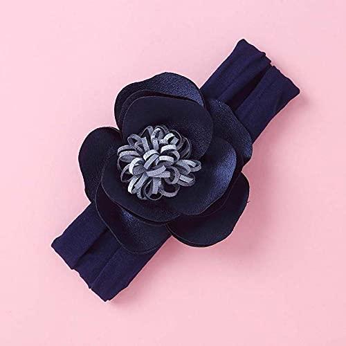 Diadema de flores de nailon de invierno para bebé turbante para niños y niñas bonitas cintas para el pelo a la moda vendaje cálido con protección para los oídos-8_El tamaño se adapta a todos