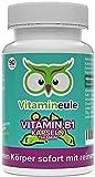 Vitamin B1 Kapseln (Thiamin) - hochdosiert, natürlich & vegan - 200mg - ohne künstliche Zusatzstoffe -...