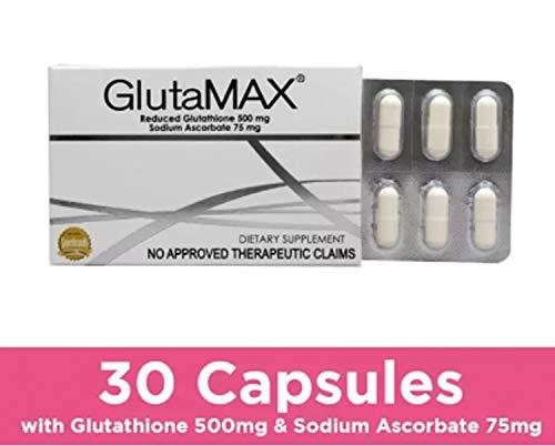 Glutamax Skin Whitening Capsules 10 capsules