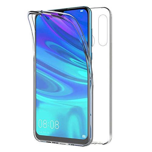 """TBOC Funda para Huawei P Smart+ 2019 - Huawei P Smart Plus 2019 [6.21""""] - Carcasa [Transparente] Completa [Silicona TPU] Doble Cara [360 Grados] Protección Integral Total Delantera Trasera Lateral"""