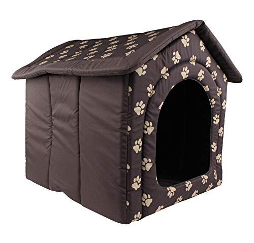 Woofery - Hundehaus Hundehöhle Tiana - Braun L 60 x 55 x 60 cm