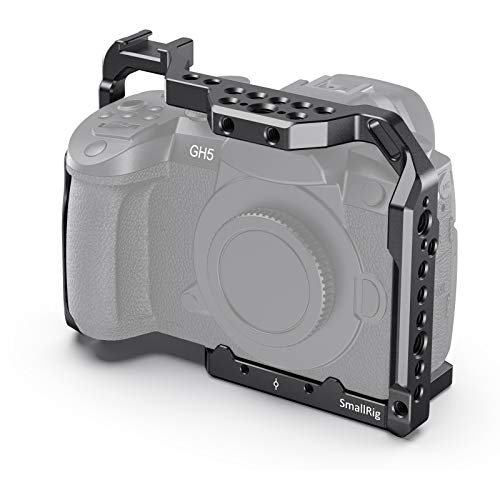 SmallRig GH5 GH5S Cage for Panasonic Lumix Camera and DMW-XLR1 (Upgraded Version)-CCP2646