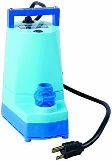 Little Giant 505000 1/6-HP 5 MSP Water Wizard Submersible Utility Pump, 5 Series