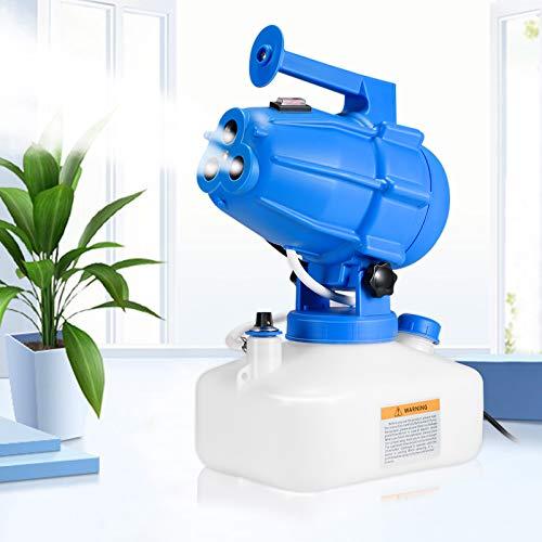 S SMAUTOP Elettrico Nebulizzatore Fogger ULV Spruzzatore per nebulizzazione Macchina per la disinfezione Spruzzatore Disinfettante Elettrico per Fabbrica Scuola Ospedale Giardino Sterilizzazione