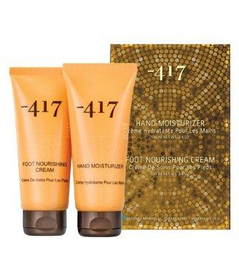 Menos 417mi Spa del Mar Muerto Duo moisturizers Set Mano humectante Crema nutritivo de...