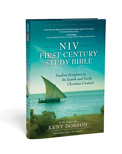 NIV, First-Century Study Bible, Hardcover, Teal: Explore Scripture in Its Jewish and Early Christian Context