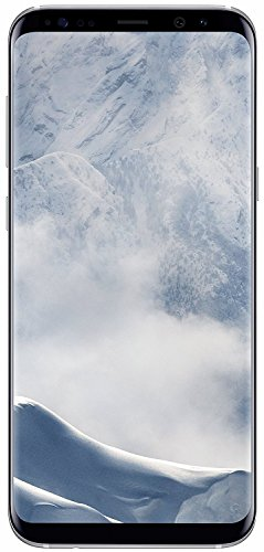 Samsung Galaxy S8+ SM-G955V - 6.2in- 64GB - Verizon + GSM Unlocked (Renewed) (Arctic Silver)