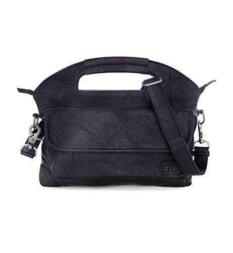 Bed|Stu Women's Greenway Leather Bag (Black Rustic)